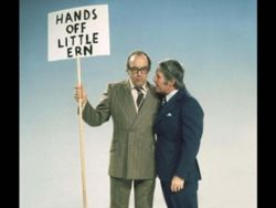 By the way, you can see the Morecambe and Wise 1973 special on Boxing Day at 9:10pm on BBC Two.